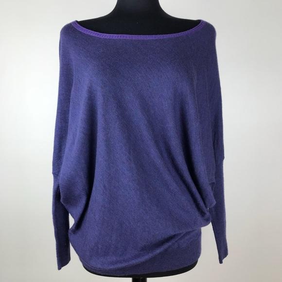 4f6fa5ca682 Eileen Fisher Sweaters - EILEEN FISHER Colorblock Merino Wool Dolman Swater